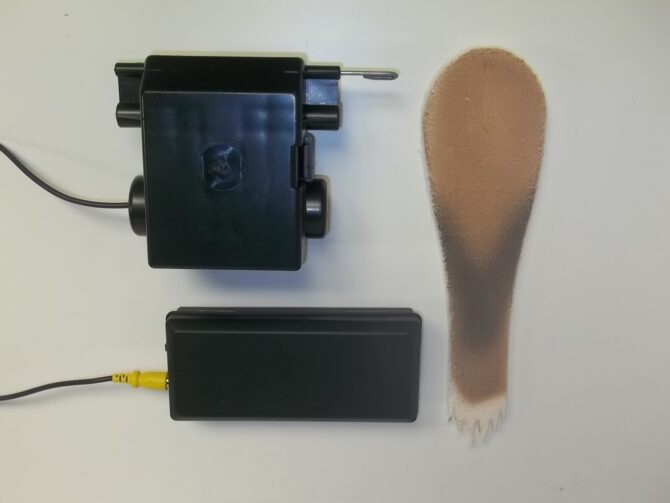 tail wagger motion kit with foam tail
